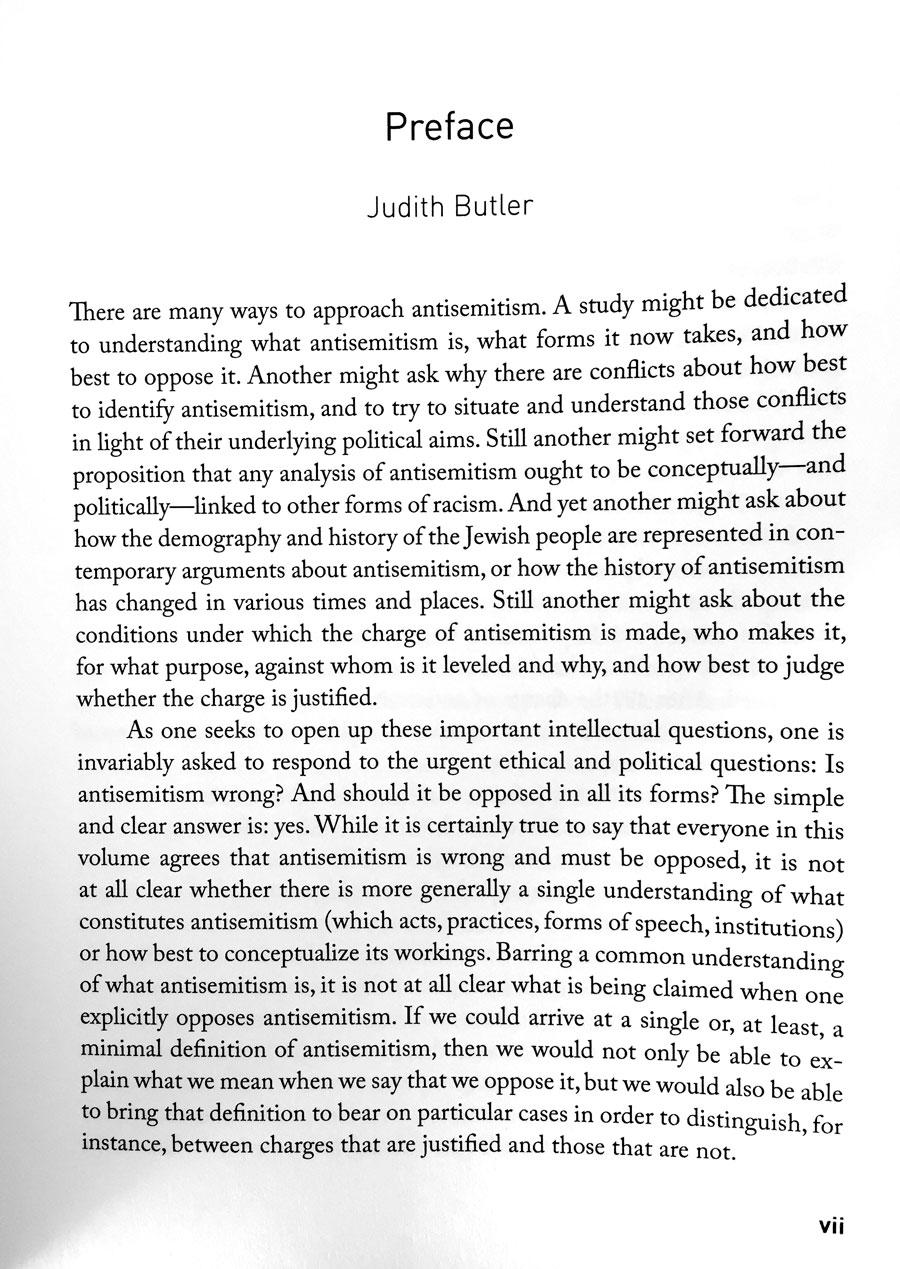 Judith butler essays
